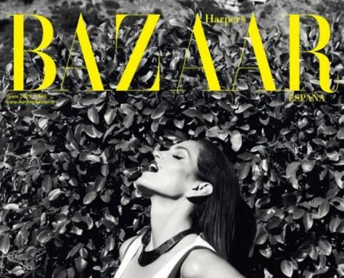 Harper's Bazaar iPad, portada